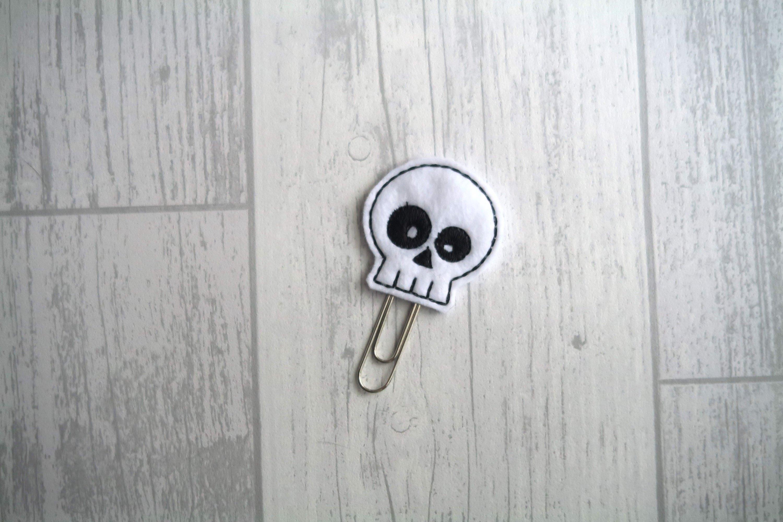 Skull Planner Clip