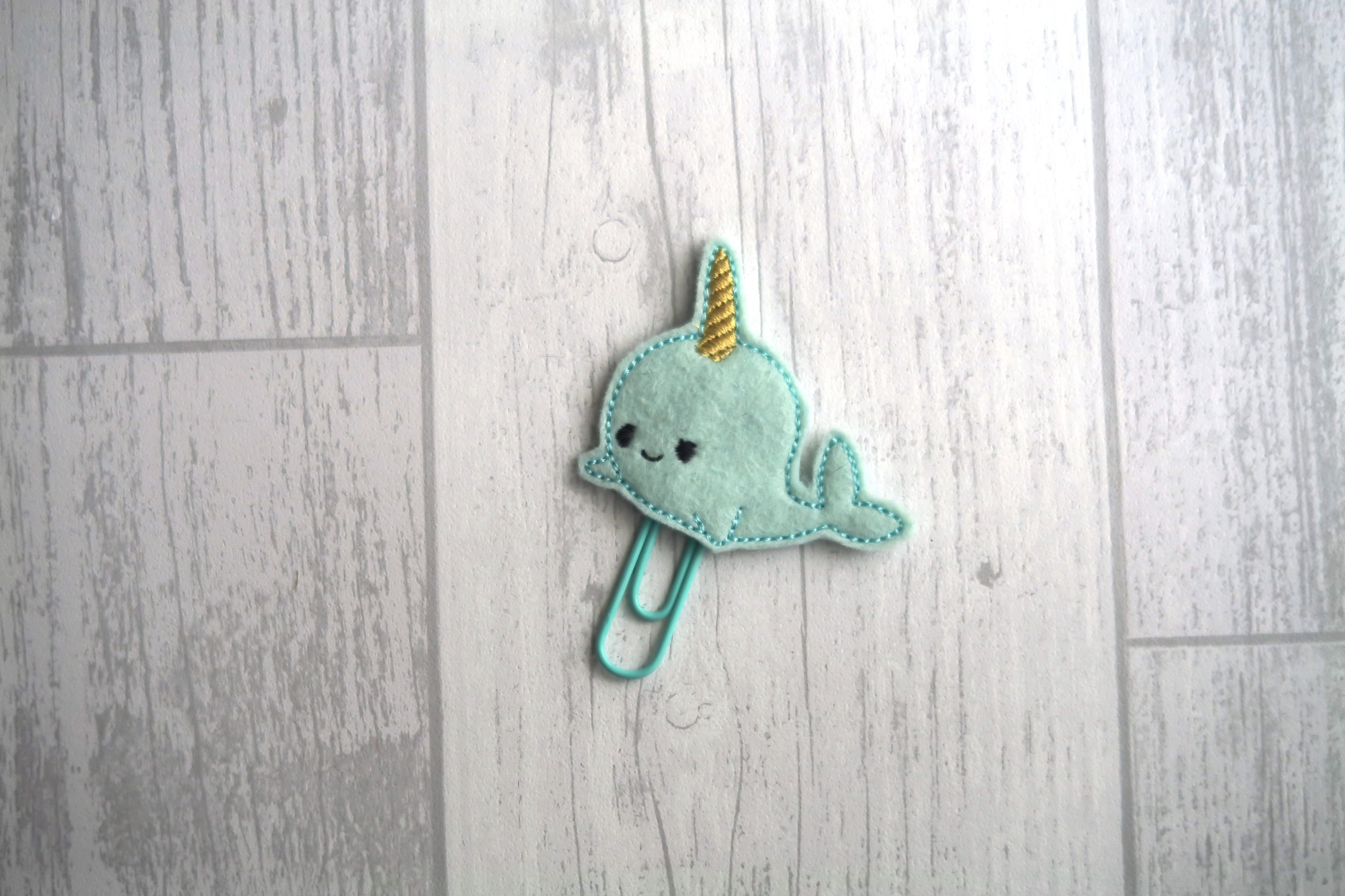 Narwhal Planner Clip