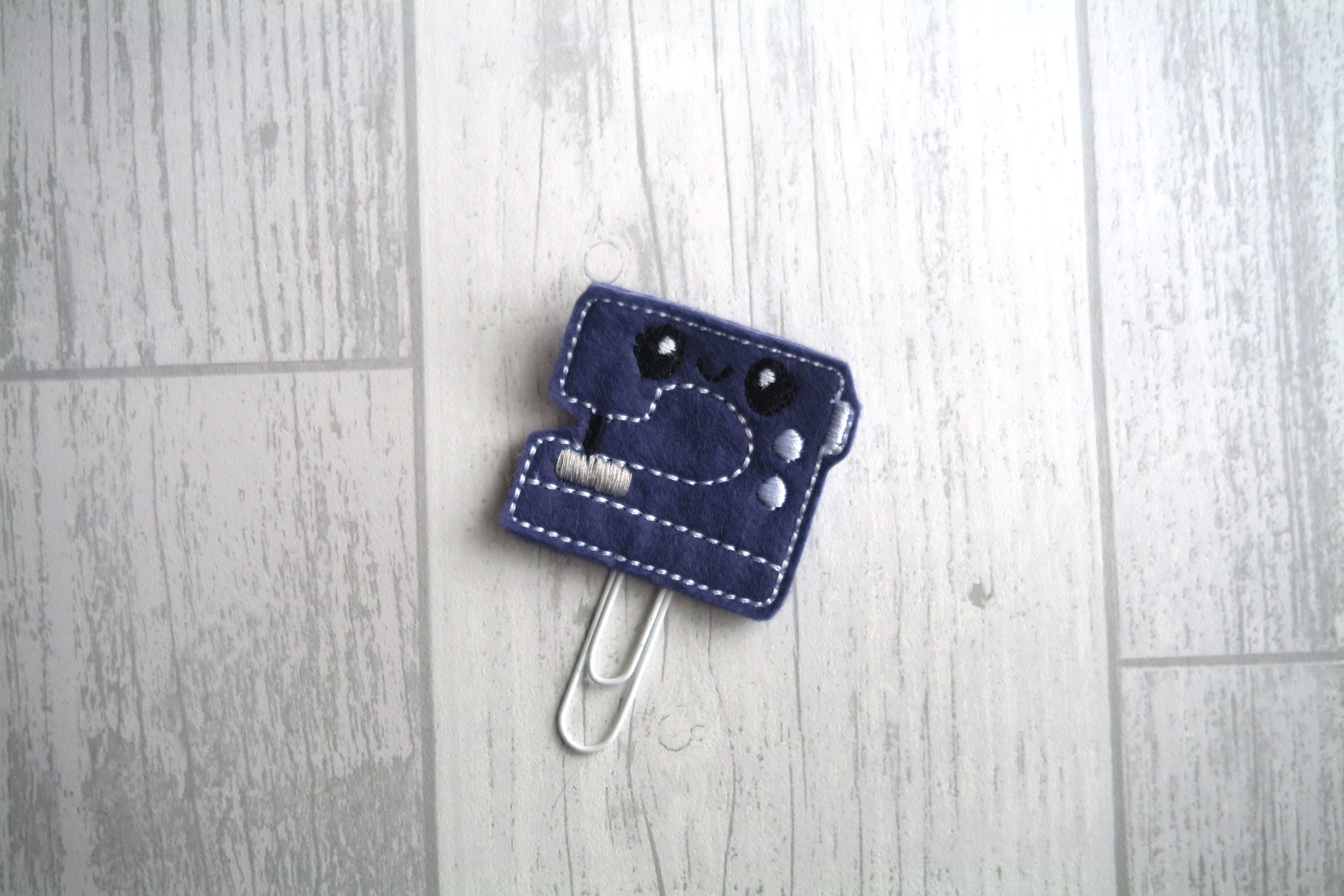 Sewing Machine Planner Clip