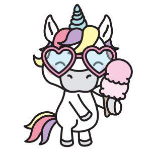 Unicorn Character Stickers