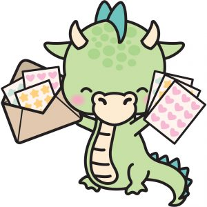 Dragon Character Stickers