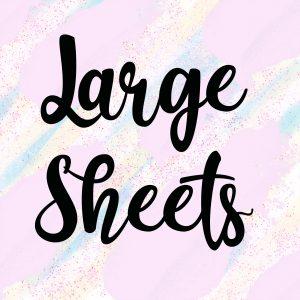 Large Sheets